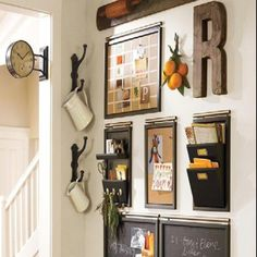 Wish I had wall space in my kitchen for something like this!