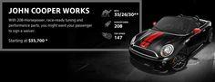 MINI Cooper Roadster - John Cooper Works #MINIbaltimore #jcworks