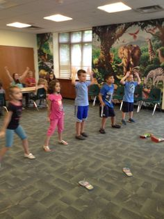Kids put on their dancin' shoes at our XBox dance program yesterday!