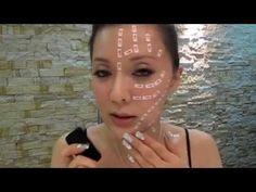 Массаж для четкого овала лица - YouTube