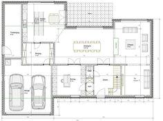 En groot modern huis indelen .... is niet zo simpel. | Bouwinfo Little Dream Home, Villa, Small House Design, House Extensions, Dream House Plans, Architecture Plan, House Layouts, Classic House, House Goals