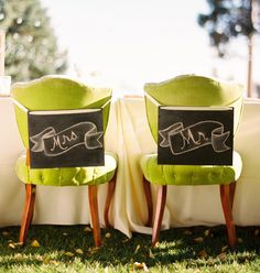 Wedding trends 2013: Chalkboard wedding decor and details