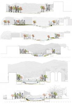Segundo Lugar Concurso De Ideas Para La Integración Urbana Del Río Guadalmedina | Plataforma Arquitectura