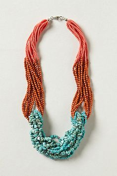 Tropic Waters Necklace #anthropologie