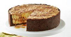 This Mars bar cheesecake by taste member 'scarletbegonias' is simply irresistible.