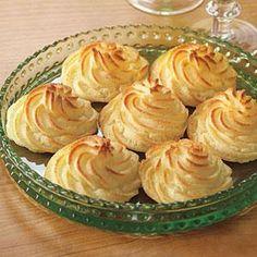 Duchess Potatoes | MyRecipes.com