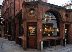 London's First Coffee House ~ opened between 1652, in St. Michael's Alley, The City (now a wine bar)