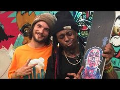 nice Lil Wayne and Torey Pudwill Session Weezy's Private Skatepark