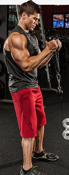 Bodybuilding.com - A Bodybuilding.com  - Arm Workouts For Men: 5 Biceps Blasts. #gymmotivation #gym #menfitness #motivation #abs