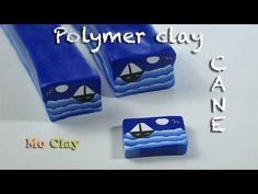 ▶ Polymer clay tutorial - How to make a Landscape cane by Mo Clay - YouTube