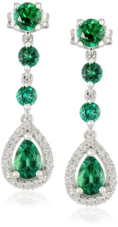 Sterling Silver Created Emerald and Created White Sapphire Fashion Dangle Earrings Amazon Curated Collection,http://www.amazon.com/dp/B00IUPXAJ0/ref=cm_sw_r_pi_dp_HtMxtb1PYCS9TAVN