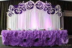 Фотографии Оформление свадеб в Бресте – президиум молодожен