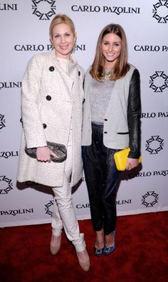 Olivia Palermo with Kelly Rutherford