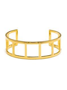 gold ladder cuff bracelet / baublebar