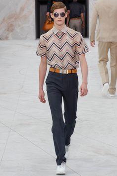 louis vuitton spring summer 2015 | Looking sharp...