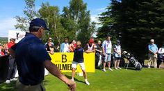 #KennyDalglish teeing off from the 3rd #CelebCup #TeamScotland