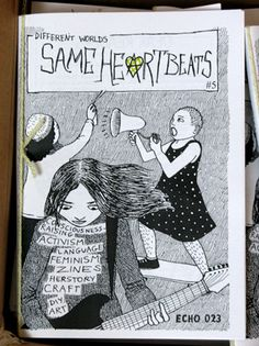 DIY feminist zines + comix | self-made by Zina
