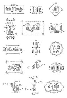 Amorie Font Family Type Exploration  by Kimmy Kirkwood, via Behance