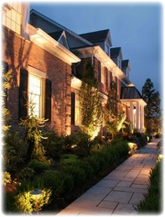 Outdoor Home Lighting Enchanting Home Exterior Lighting Colleyville  Home Lighting In Dallas Fort Review