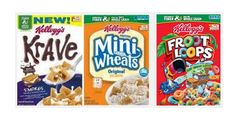 Save $1/2 Kellogg's Cereals with Printable Coupon