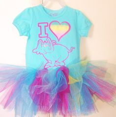Dr Seuss HORTON Hears a Who...Tutu Dress size 4t ready to ship