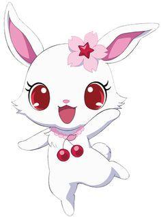 Jewelpets Ruby Sanrio - A white bunny.