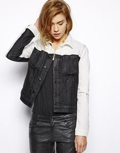 Koral Denim Colour Block Jean Jacket