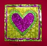 Artsonia: Mexican Tin Hearts gr4