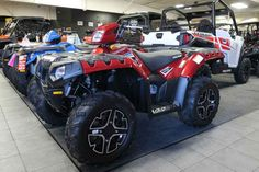 New 2016 Polaris Sportsman 850 SP Sunset Red ATVs For Sale in Wisconsin. 2016 Polaris Sportsman 850 SP Sunset Red, FALL ATV/UTV CLEARANCE SALE GOING ON NOW!!! CALL FOR MORE DETAILS.