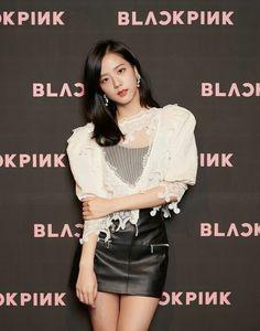 180615 • BLACKPINK Jisoo at the press conference at CGV Cheongdam CineCity