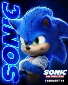 Sonic The Hedgehog is speeding into theatres for a big screen adventure for the whole family! Make sure to when the is in theatres February 14 starring Jim Carrey, Ben Schwartz, James Marsden and Tika Sumpter! Sonic The Hedgehog, Hedgehog Movie, Hedgehog Art, Sonic The Movie, The Sonic, Sonic Sonic, Sonic Dash, Sonic Fan Characters, Cartoon Characters