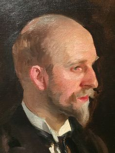 John Singer Sargent (USA, - Charles Martin Loeffler, detail - 1903 - oil on canvas - Isabella Stewart Gardner Museum, Boston Painting People, Figure Painting, Traditional Paintings, Traditional Art, Oil Portrait, Life Drawing, American Artists, Les Oeuvres, At Least