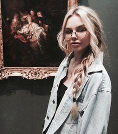 Skinny blond tonåring Porr