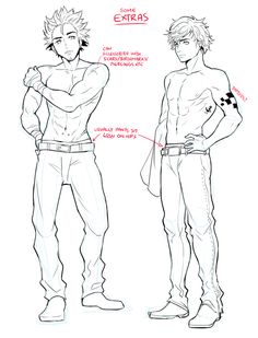 How to draw male characters | By Circus-Usagi   #WMA #manga #tutorial