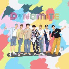Bts Happy Birthday, Bts Laptop Wallpaper, Kpop Posters, We Bare Bears, Bts Drawings, Bulletproof Boy Scouts, Disney Fan Art, Bts Korea, Me Me Me Song