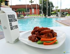 Have you tried one of our famous chicken wings at Tony's Bar & Grill within Legacy Vacation Resort Orlando-Kissimmee? Wash it down with a boxed water - delicious and mindful too. Vacation Resorts, Vacation Destinations, Orlando Resorts, Family Getaways, Bar Grill, Central Florida, Tandoori Chicken, Walt Disney World, Mindful