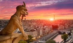 10 free things to do in Paris. View over Paris from Notre-Dame. Photograph: Sylvain Sonnet/Getty Images