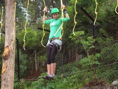 High Rope Courses High Ropes Course, Capri Pants, Sporty, Beauty, Style, Fashion, Beleza, Capri Trousers, Moda