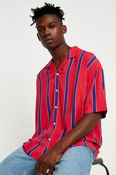 686d66b088 Loom Retro Stripe Berry Short-Sleeve Shirt Sam Smith
