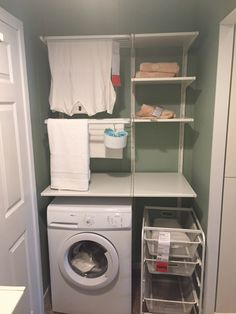 Stacked Washer Dryer, Washer And Dryer, Laundry, New Homes, Home Appliances, Laundry Room, House Appliances, Washing And Drying Machine, Appliances
