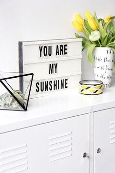 DIY – Como Fazer Caixa De Luz Troca Letras -  Lightbox - Message Board - Caixa de Luz com Mensagem - Caixa de Luz - Frases na Caixa de Luz - Como Fazer - How To Do Lightbox With Message Board - #BlogDecostore