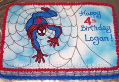 Awesome DIY Birthday Cake Ideas for the Homemade Cake Decorating Enthusiast Happy Bday Cake, 4th Birthday Cakes, Man Birthday, Boy Birthday Parties, Birthday Ideas, Superhero Cake, Baby Shower, Cake Decorating, Birthdays