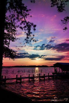 Eastern North Carolina sunset