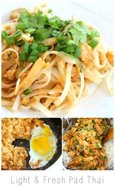A lighter version of pad thai with all the flavor but not the greasy noodles.