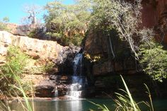 Adcock waterfalls Australia