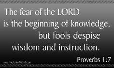 Proverbs the book of wisdom
