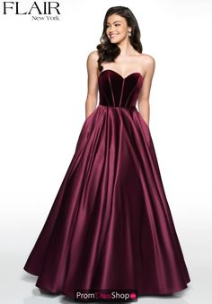 4d79defec10b This Flair prom dress 19031 will flatter your figure instantly and is sure  to have you