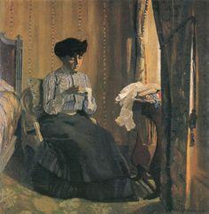 vallotton-felix Couturière à la fenêtre