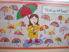 junior infants display - Google Search Teaching Babies, Teaching Kindergarten, Childcare Activities, Art Activities, School Displays, Classroom Displays, Teacher Portfolio, Irish Language, Infant Classroom
