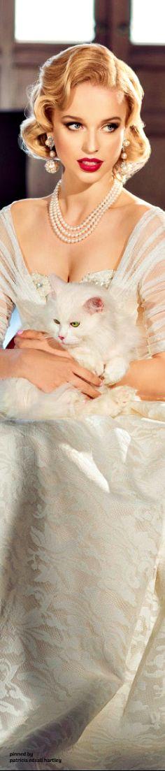 ❤️♕Desiree♕❤️ Which kitty shal  I pet ? tough choice.